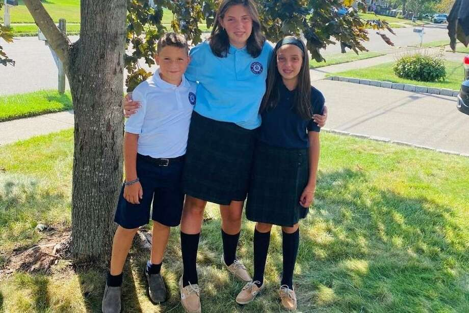 St. Mary School had a soft roll out on Wednesday, Aug. 26 for students in kindergarten to grade 8. Next week their 3- & 4-year old preschoolers arrive. Photo: St. Mary School / Contributed Photo