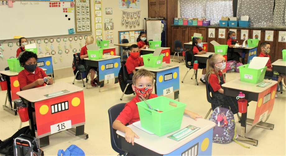St. Ann's Catholic School started its 2020-21 school year on Wednesday, August 26, 2020. Photo: Courtesy Photo