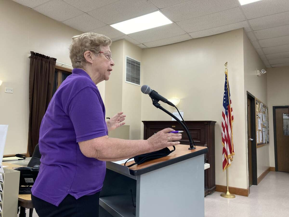 Dorothy Christiansenaddressed the Milton town board on Wednesday, Aug. 26, 2020. She wants to see the seniors moved back into the Milton Community Center.