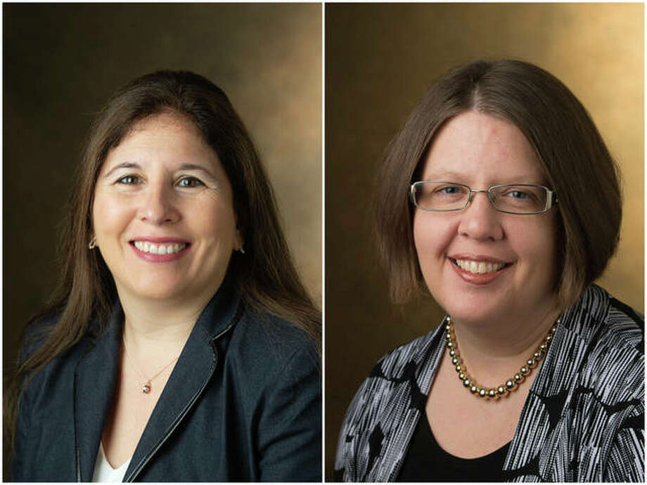 Carolina Rocha (left) and Laurie Rice (right)