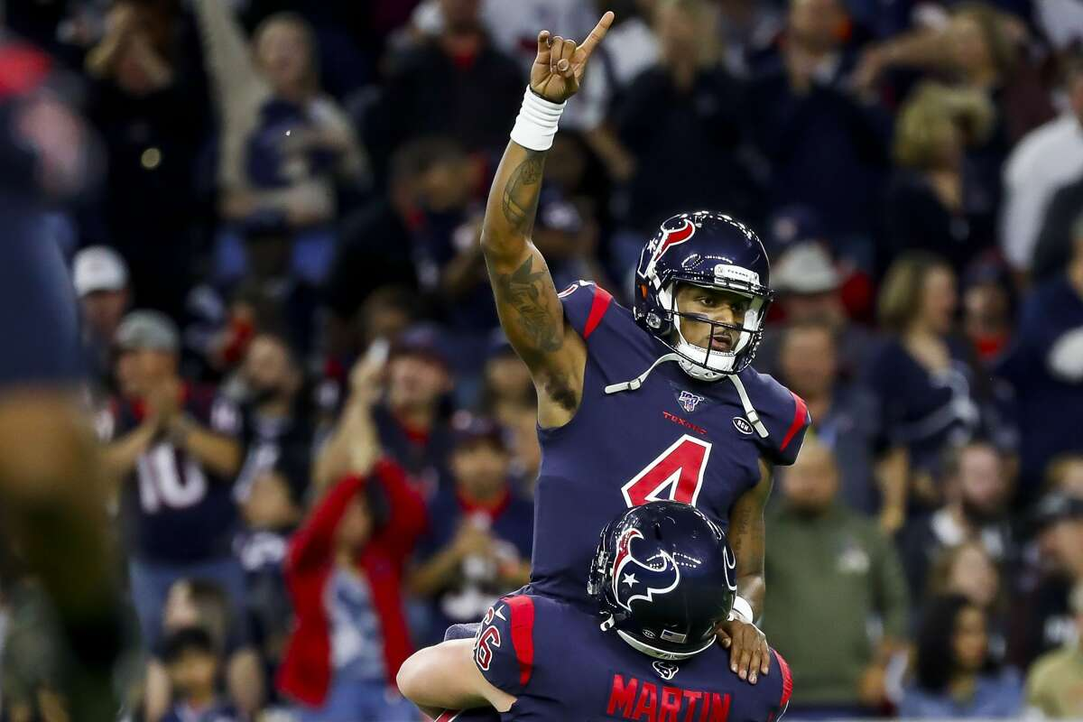 During his tenures at Gainesville (Ga.) High School and Clemson, Texans quarterback Deshaun Watson grew accustomed to being on top.