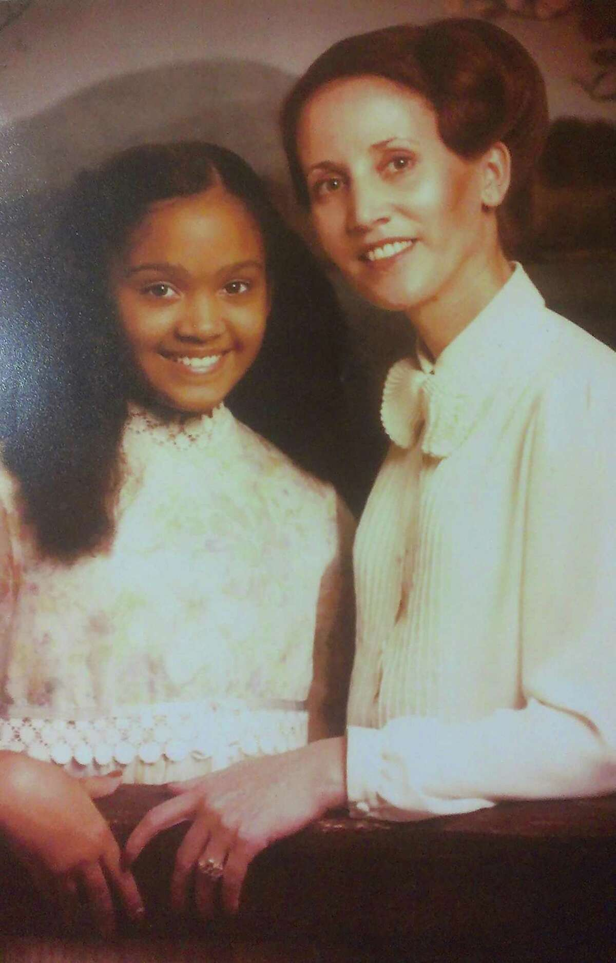 VeroniQue Shipley says she was called names as a child because of her biracial heritage, but her late mother, Joelle LeSage, a white woman from France, taught her to be proud of it. Shipley's father is Black.