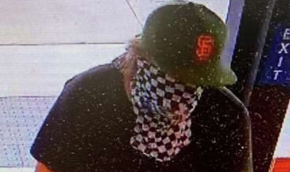 A surveillance video of a man who stole a firefighter's credit cards.