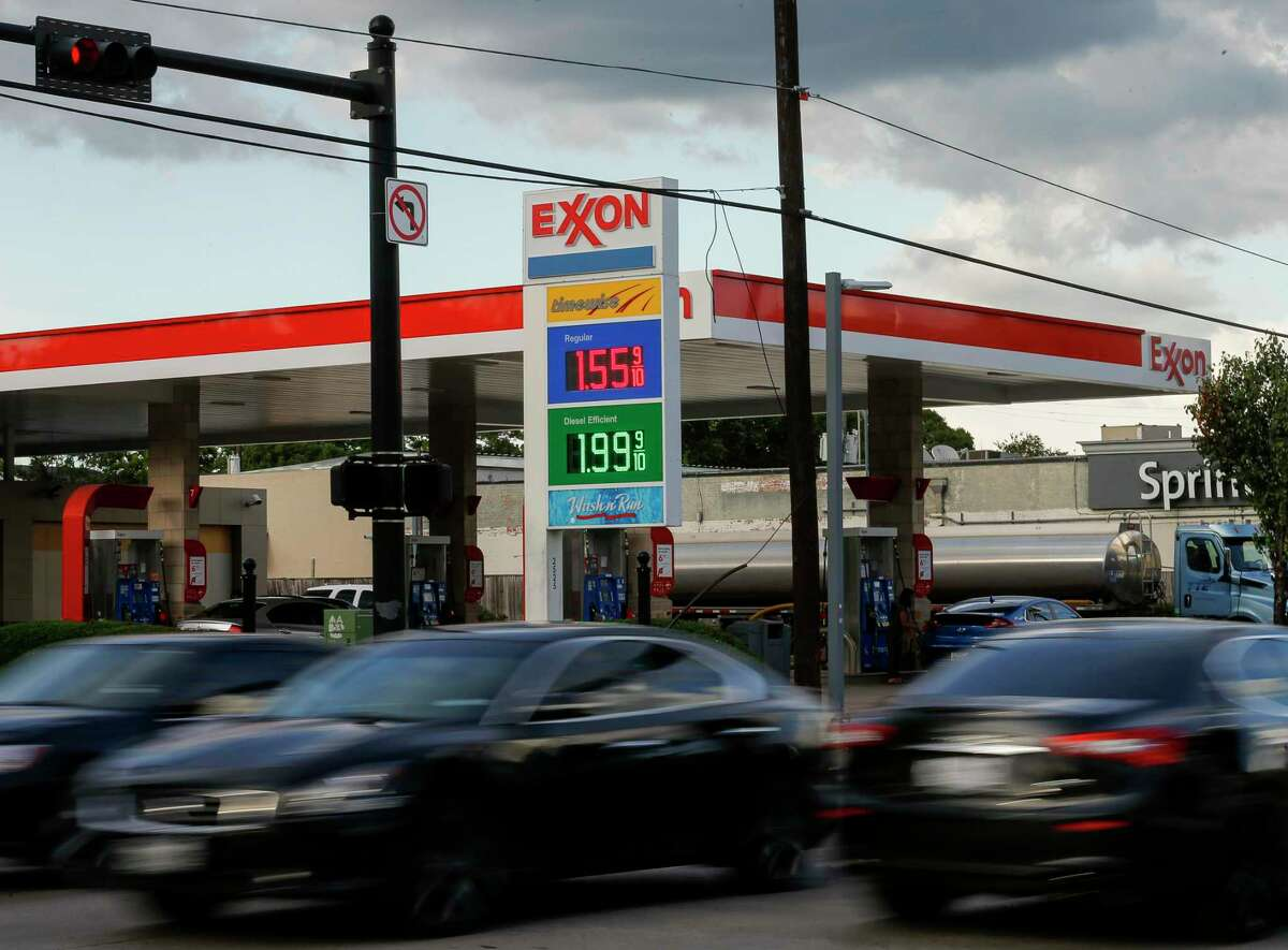 Gas prices have declined during the COVID-19 pandemic, photographed Tuesday, May 26, 2020, in Houston.