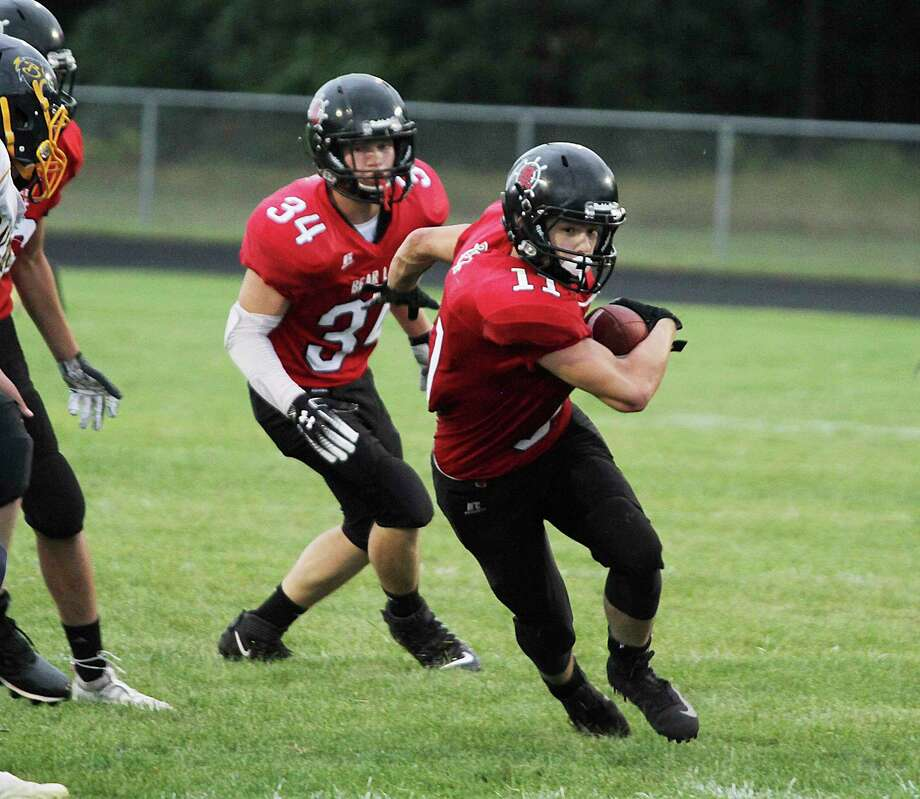 Bear Lake's fourth football season as a program will have to wait until the spring, but the Lakers are keeping their spirits up in the meantime. (News Advocate file photo)