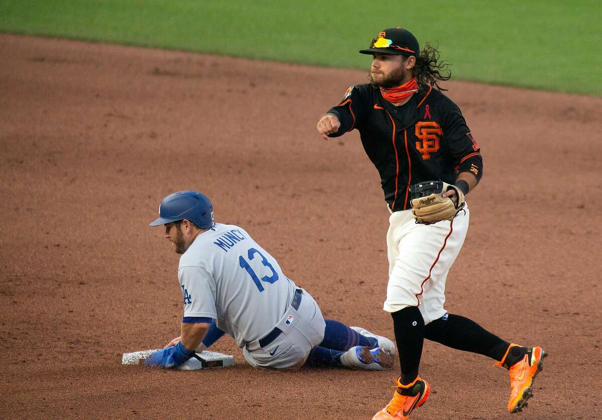 The Giants and Dodgers haven't played since Aug. 27 when Los Angeles swept a doubleheader.