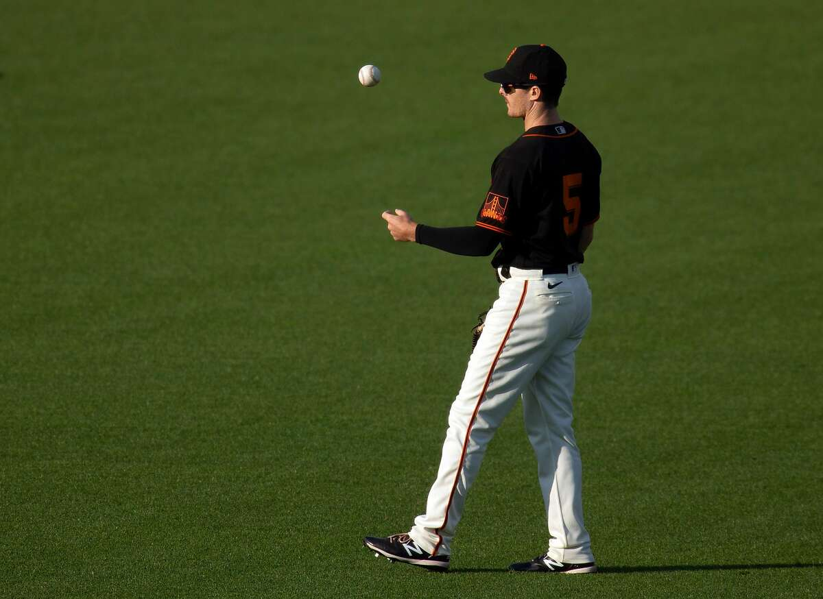 Mike Yastrzemski has played all three outfield positions for the Giants. In two seasons at the plate, Yastrzemski has batted .281 with 31 homers, 36 doubles, seven triples and 90 RBIs in 161 games.
