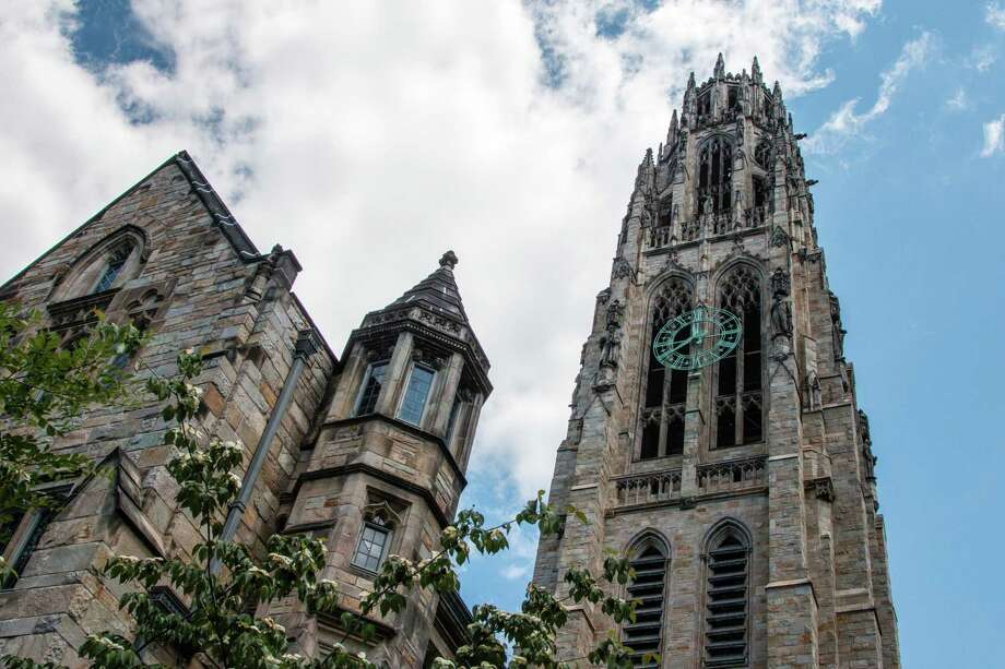 Harkness Tower on Yale University in New Haven. Photo: Dreamstime / TNS / Hartford Courant