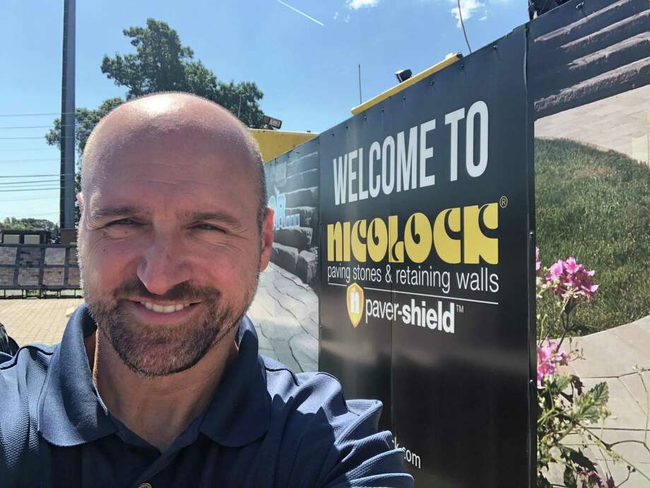 Jeremy Mutschler, the newly appointed director of marketing for Nicolock Paving Stones. Photo: Contributed Photo