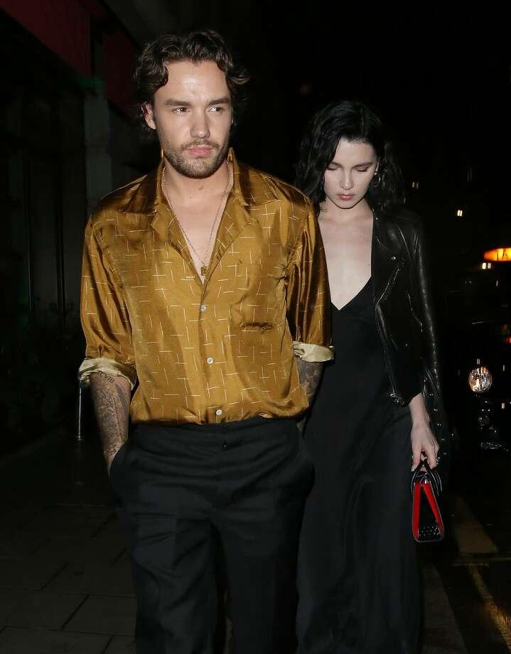 Liam Payne and Maya Henry are seen leaving Novikov restaurant on Aug. 27, 2020 in London, England. (Photo by Dan/Will/MEGA/GC Images) Photo: MEGA/GC Images / 2020 MEGA