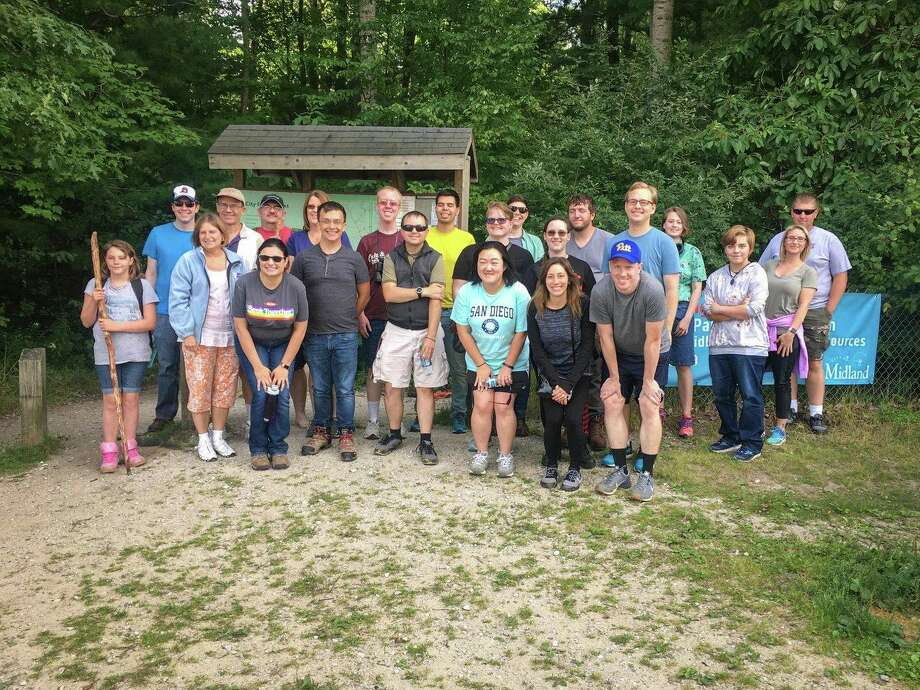 Little Forks Conservancy's Director of Programs & Partnerships, Andrea Foster will host OUTdoors Together, a series of hikes for LGBTQIA+ individuals and allies. (Photo provided)