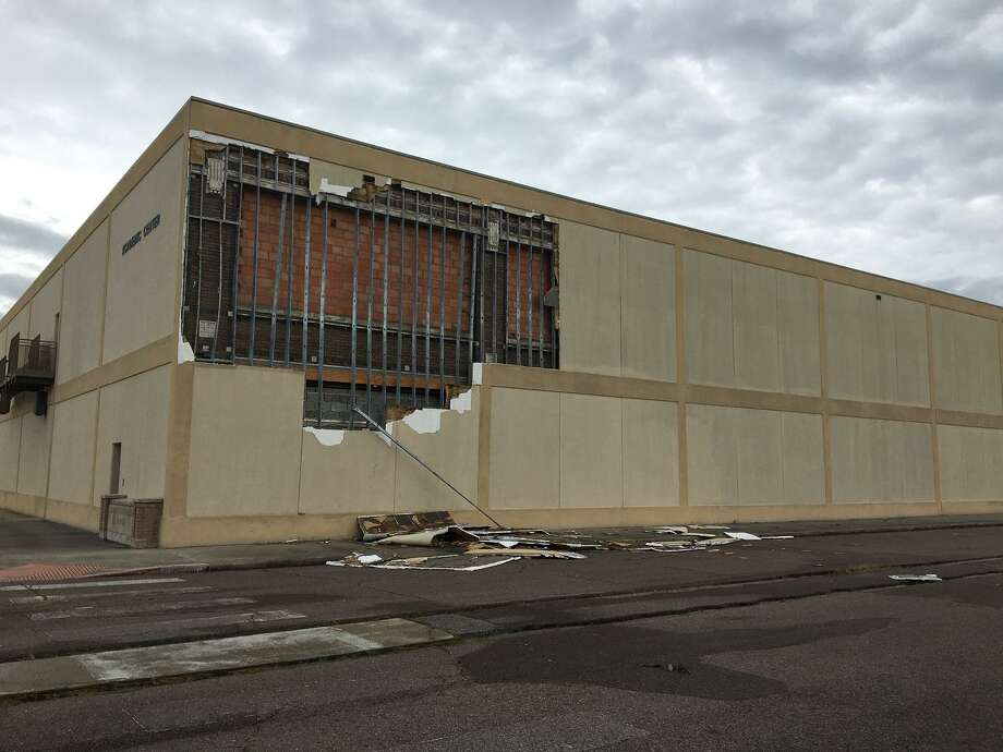 Lamar State College Orange is still assessing damage to their campus Friday, after Hurricane Laura tore through the region Thursday morning. The college will announce their plans for return early next week. Photo: LSCO / Lamar State College Orange