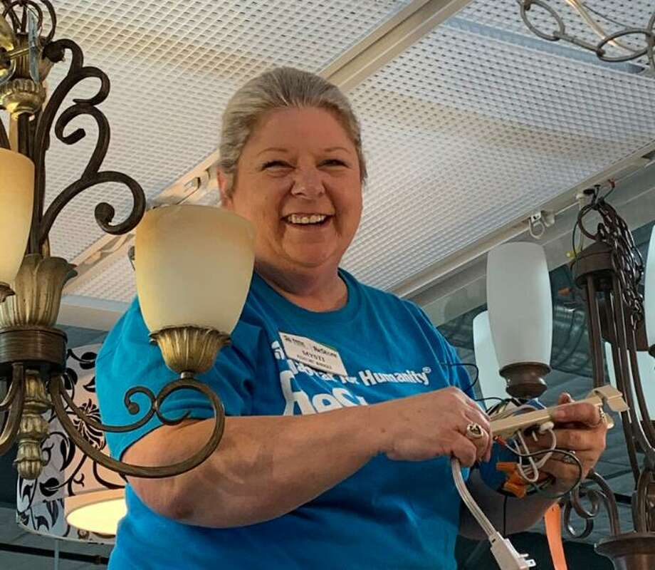 Habitat MCTX has launched a new e-commerce platform on August 14. This allows everyone to have a safe shopping experience. Shop online at www.mctxrestoreonline.com/. Mysti Henley, pictured here, was promoted to ReStore Manager in July. Photo: Courtesy Photo