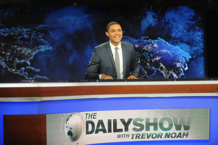 A parody newspaper ad for the faux legal firm of Trevor Noah & Associates & Sons, which ran in The New York Times, The Washington Post and the Los Angeles Times on Thursday, used an area code for its phone number San Antonians know well – 210. Photo: Brad Barket/Getty Images For Comedy Central / 2015 Getty Images