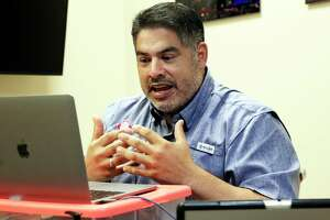 Councilman Manny Pelaez conducts a Zoom town hall meeting on homelessness on Aug. 27, 2020.
