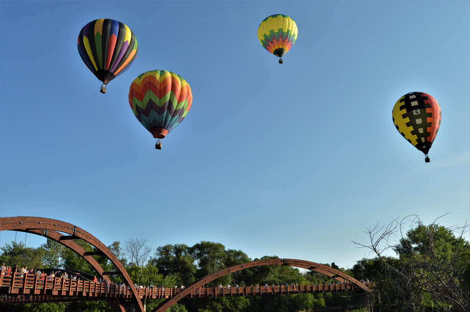 File photo of Midland's Balloon Festival and Riverdays event. (File photo) Photo: File Photo