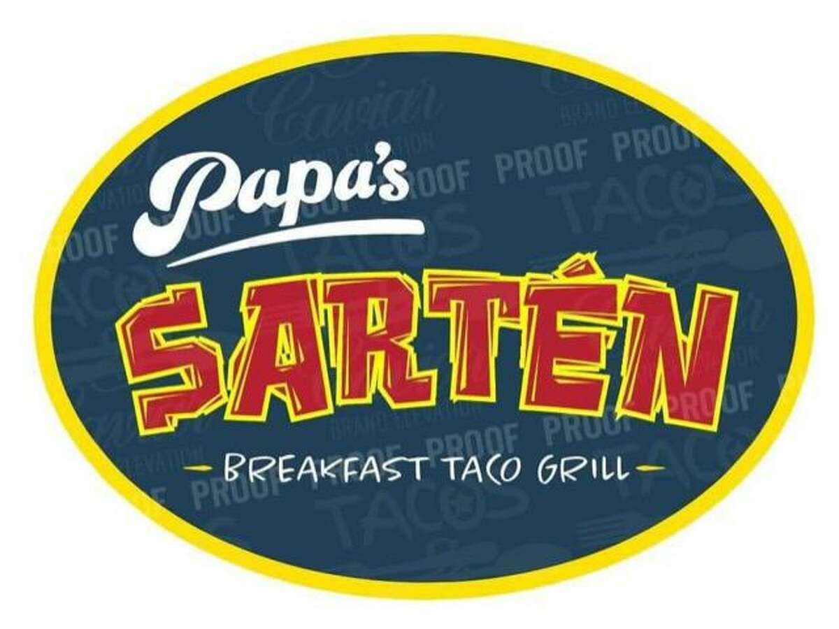 The logo for Papa's Sartén, a new taco establishment in the works from Papa's Burgers owner Robert Walker.