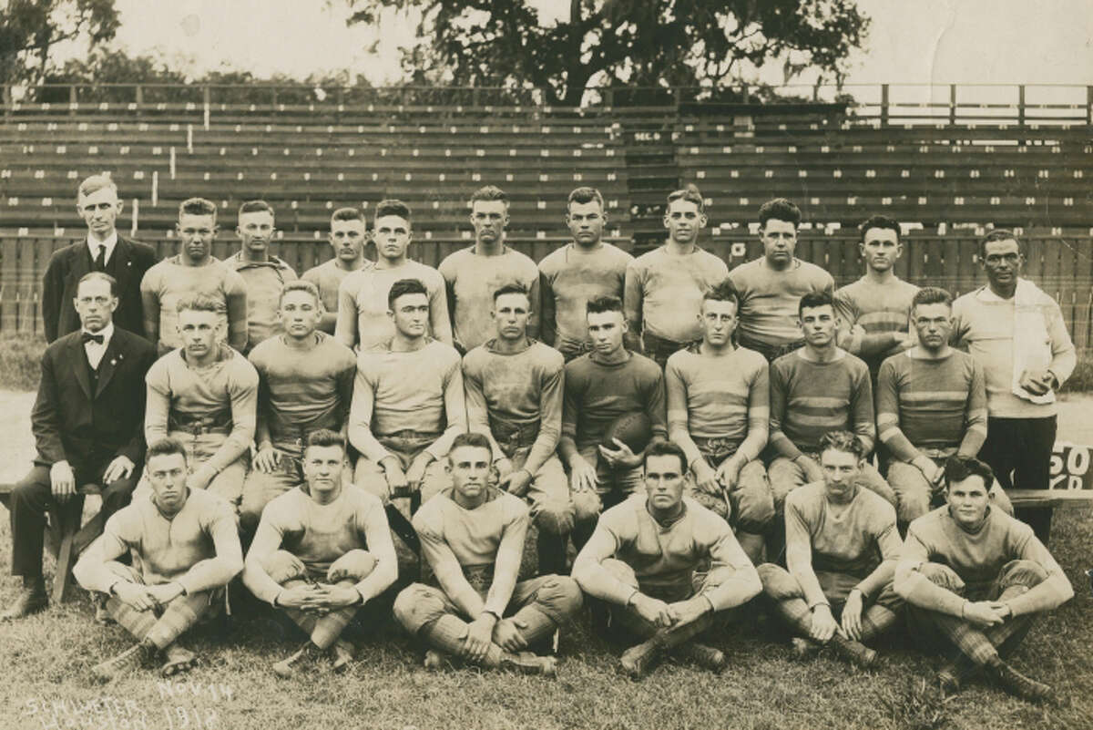 Rice's 1918 football team was the school's first to compete in the Southwest Conference.