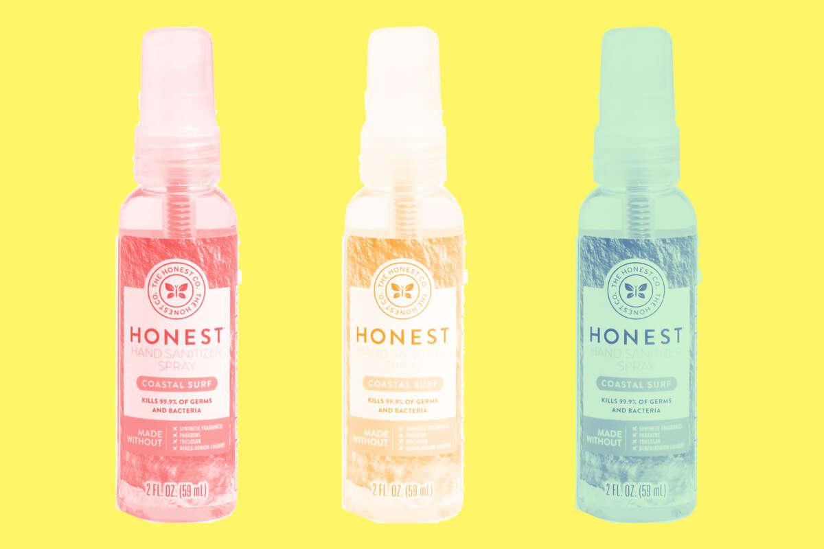 The Honest Company Hand Sanitizer Spray, Coastal Surf or Free & Clear, $3.49 at Amazon