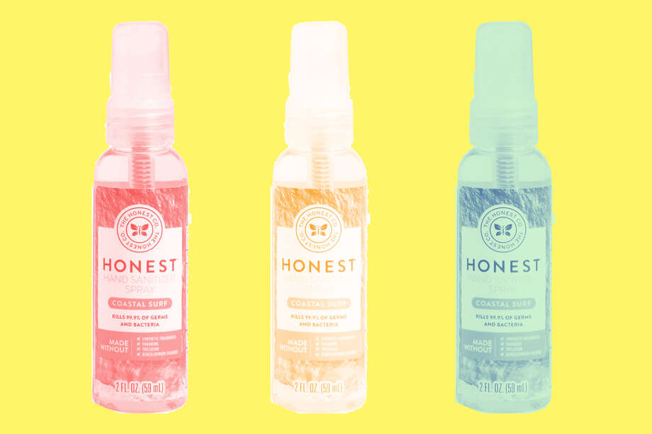 The Honest Company Hand Sanitizer Spray, Coastal Surf or Free & Clear, $3.49 at Amazon Photo: Amazon/Hearst Newspapers