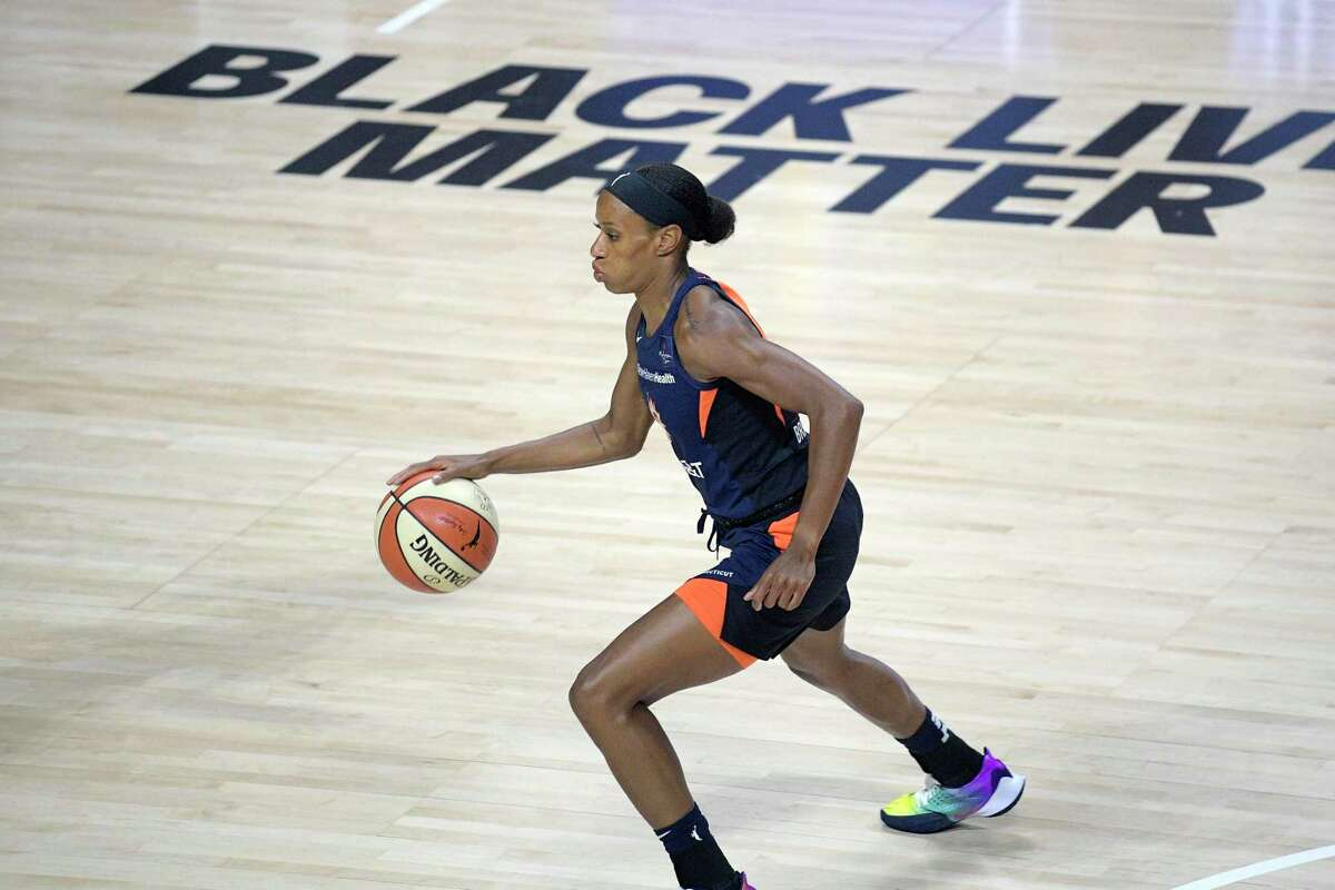 """Connecticut Sun guard Jasmine Thomas said WNBA players wanted to make a statement by not playing. """"The WNBA has always been at the forefront of all things like social injustice and fighting for equality,"""" Thomas said Friday. """"We wanted to stand with our brothers in the NBA."""""""