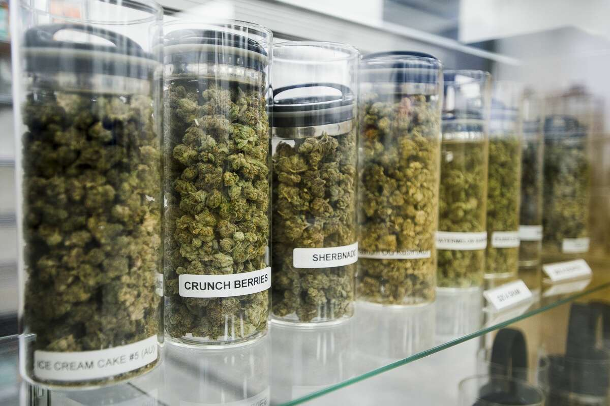 Nature's Medicines Dispensary is located at 3480 E. North Union Rd. in Bay City, and provides both recreational and medical marijuana in a variety of products. (Katy Kildee/kkildee@mdn.net)