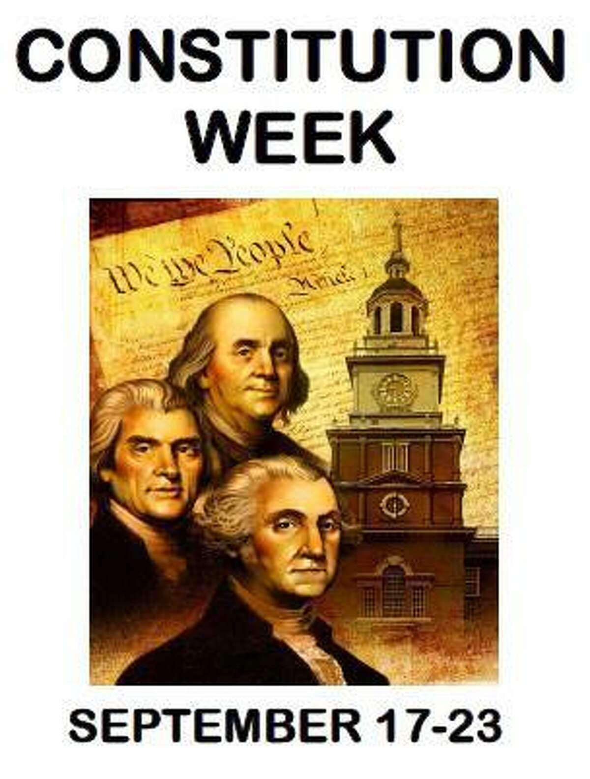 The Sarah Riggs Humphreys-Mary Silliman Chapter of the National Society Daughters of the American Revolution is celebrating Constitution Week, Sept. 17-23.