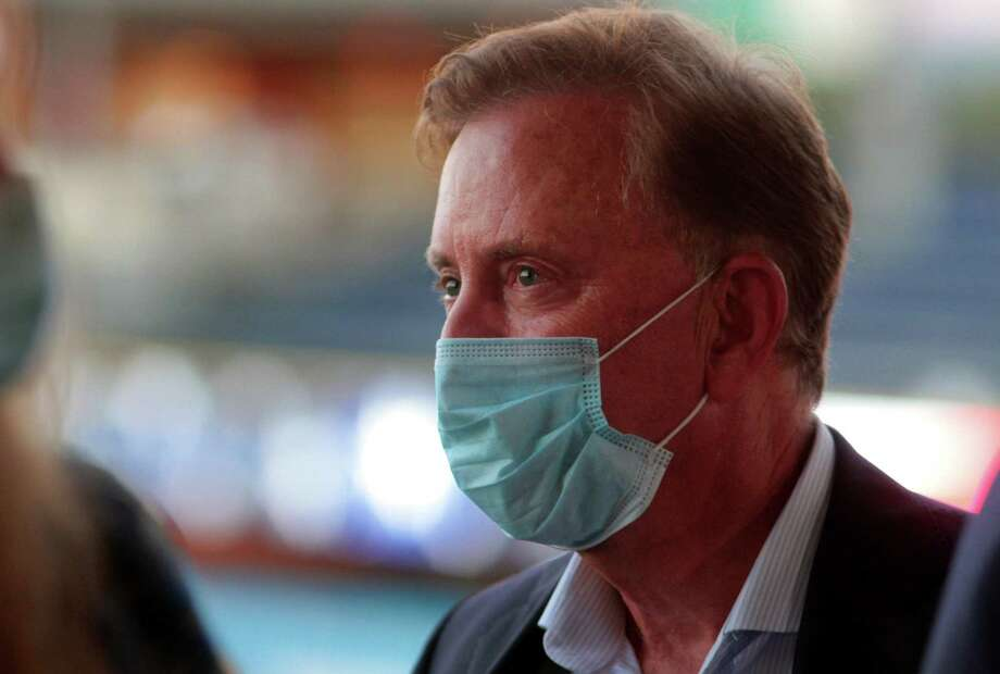 Gov. Ned Lamont is willing to ignore a new guideline from a federal agency that says no need to test people who have no coronavirus symptoms. Contact tracing, and testing, is an important tool in Connecticut for limiting the spread of the deadly virus. In this photo, the governor attends the democratic convention in Hartford Aug. 20 for the nomination of Joe Biden for U.S. president. Photo: Christian Abraham / Hearst Connecticut Media / Connecticut Post