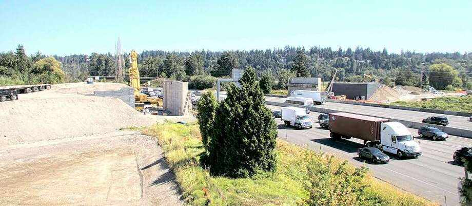 Interstate 5 to close between Federal Way and Fife this weekend Photo: Atkinson Construction Live Camera
