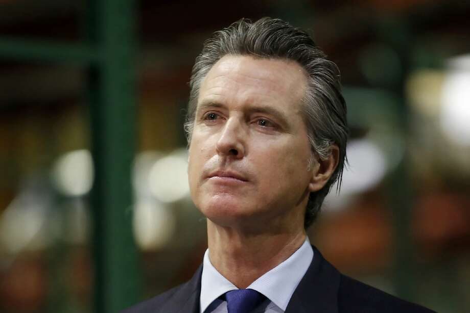 FILE - In this June 6, 2020, file photo, California Gov. Gavin Newsom listens to a reporter's question during a news conference in Rancho Cordova, Calif. Photo: Rich Pedroncelli / Associated Press