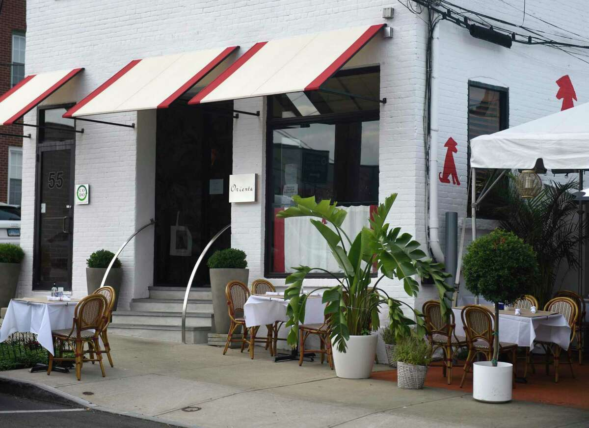 The new Orienta restaurant in Greenwich, Conn., photographed on Tuesday, Aug. 25, 2020. Located at 55 Lewis St., the French-Vietnamese bistro features a creative menu from executive chef Adrien Blech. Orienta, Greenwich Opened May 2020 Cuisine: French-Vietnamese Find out more