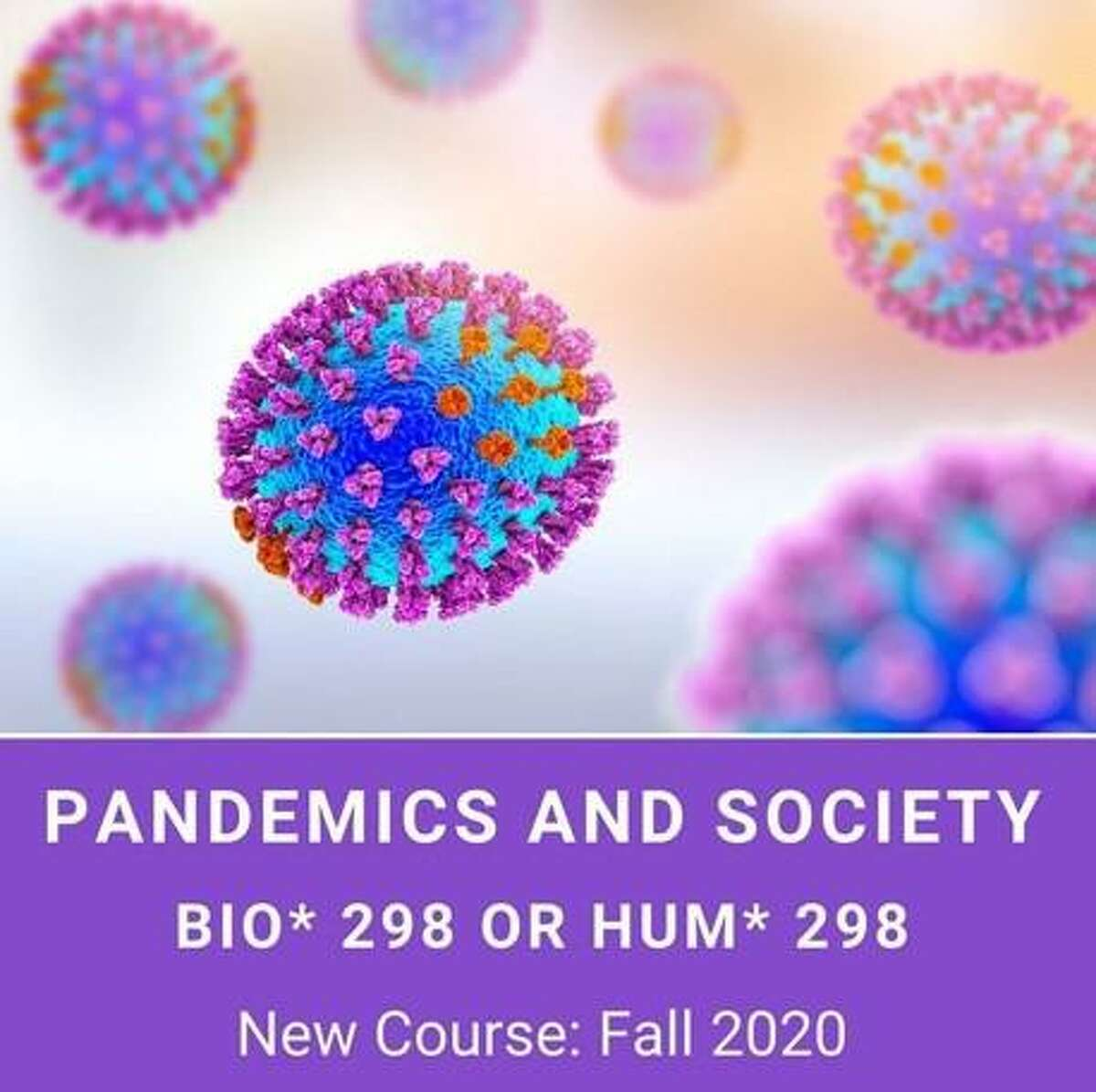 Northwestern Connecticut Community College announces the addition of a new course: Pandemics and Society this fall.