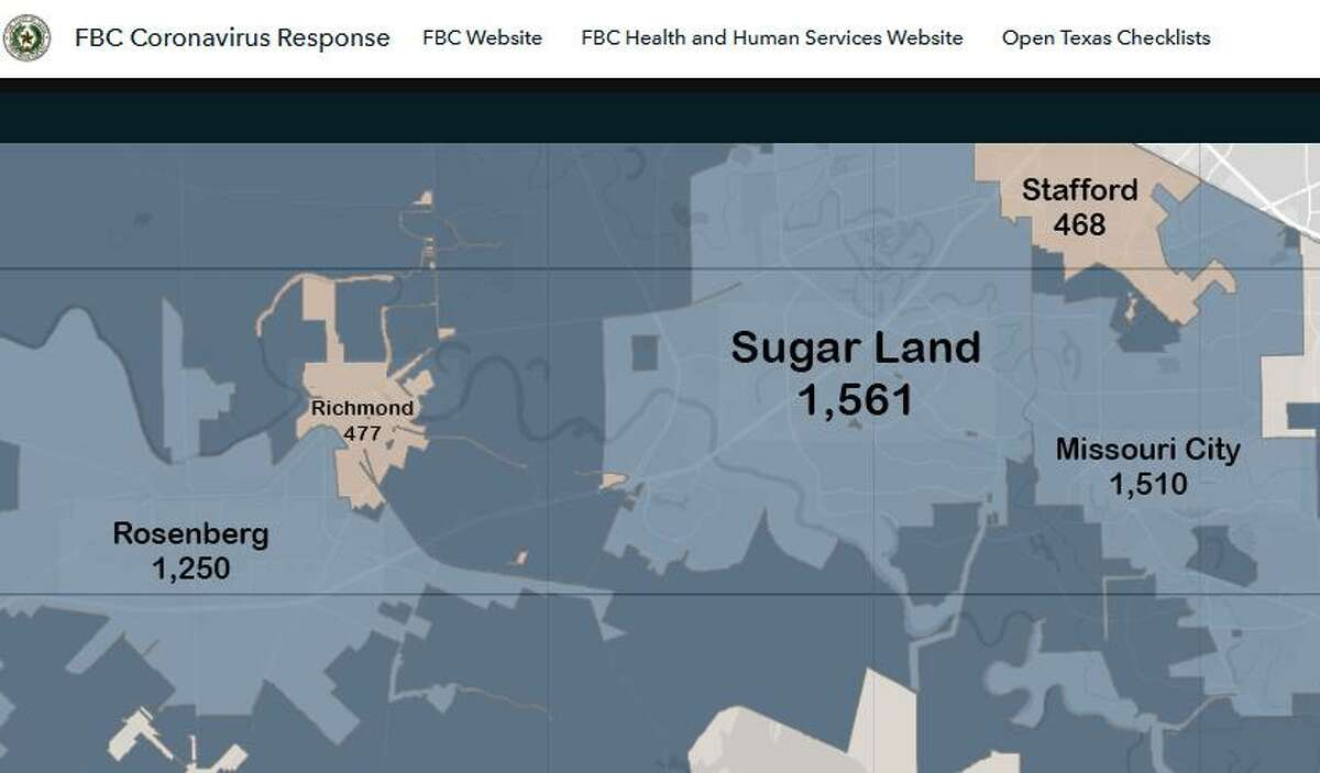 Sugar Land Missouri City Report Highest Number Of Covid 19 Case In Fort Bend County