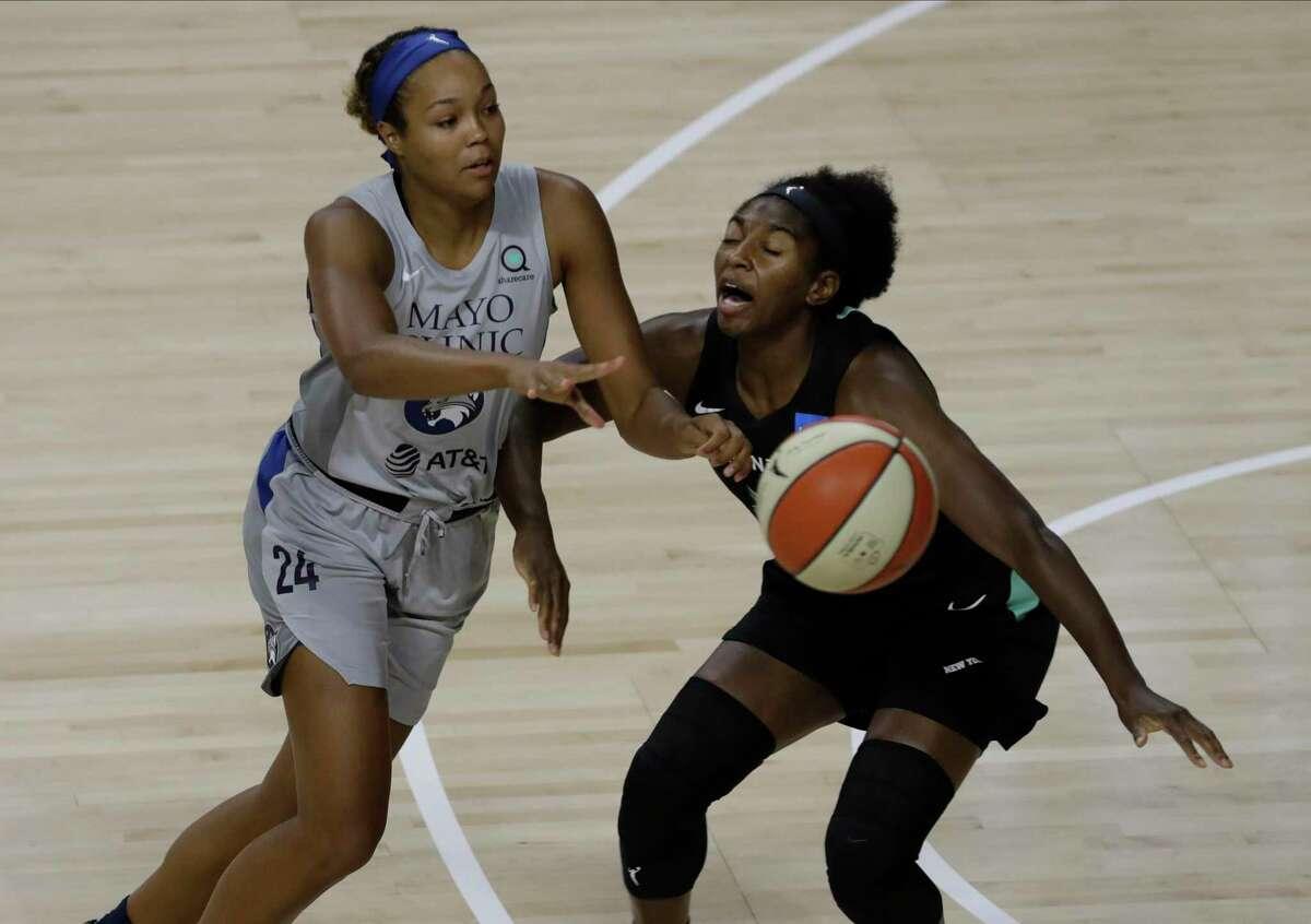 Minnesota Lynx forward Napheesa Collier said WNBA players feel empowered by their activism.
