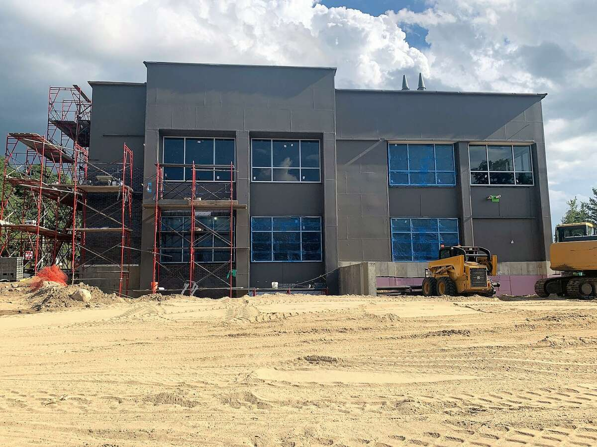 The new Hartford HealthCare hospital center is scheduled to open in January in Winsted.