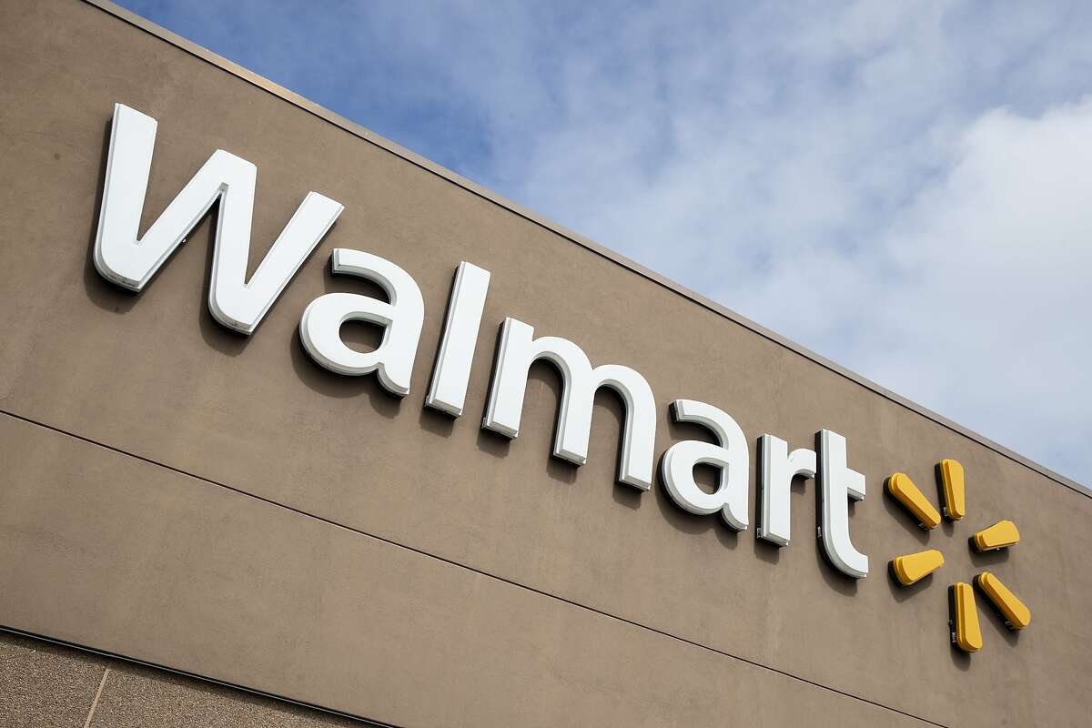 FILE - This Tuesday, March 17, 2020 file photo shows a Walmart in Warrington, Pa.