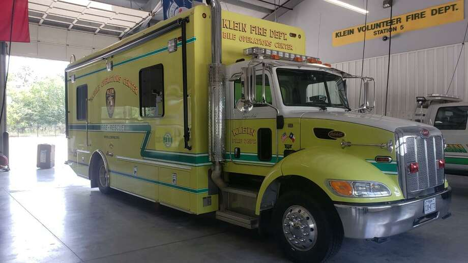 The Klein VFD mobile command operations center is equipped and ready to go for rescue and evacuation. Photo: Photos Courtesy OfKlein Fire Department