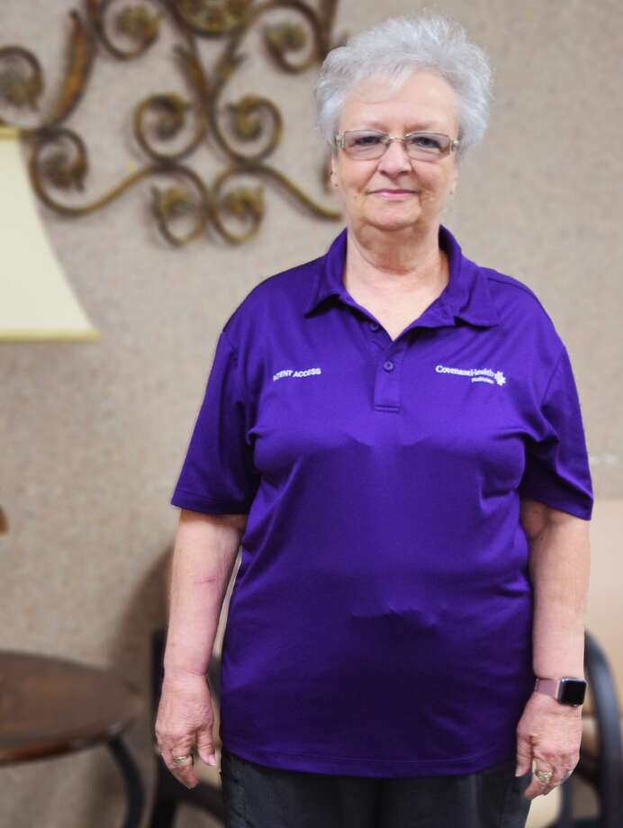 Peggy Scott, a longtime employee at Covenant Health Plainview, is retiring. Photo: Covenant Health Plainview