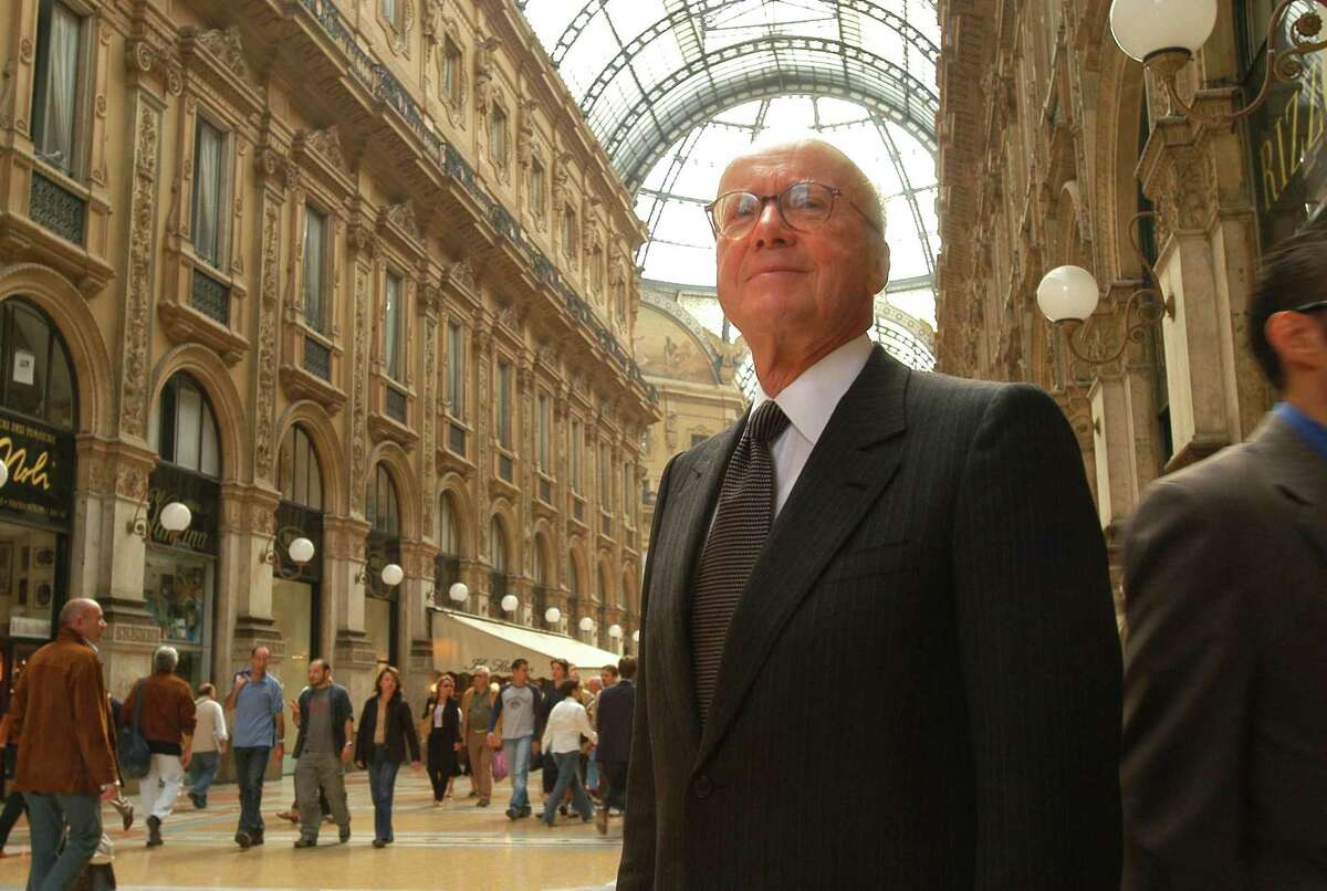 Gerald D. Hines' visit to the Galleria Vittorio Emanuele II in Milan inspired him to create Houston's Galleria shopping mall.