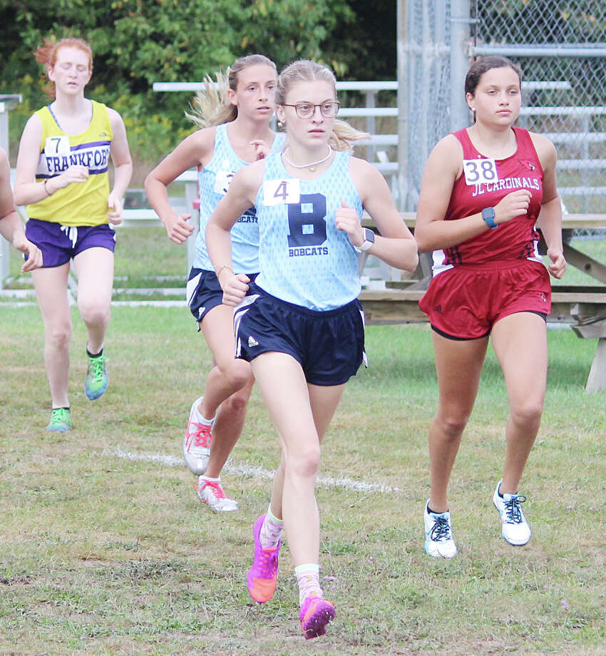 The Brethren cross country team kicked off its season on Friday at Benzie Central. Photo: Robert Myers/News Advocate