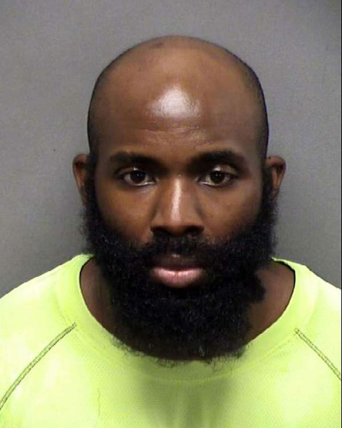 Mathias Ometu, 33, was stopped by San Antonio police officers who said he matched the description of a man suspected of domestic violence on Aug. 25, 2020. The officers had the wrong man. Now, Ometu faces two felony charges of assaulting a police officer.