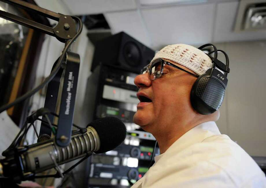 The final broadcast of Willie Colon?s La Mega radio show will be Sunday at WCDB at the University at Albany. The bilingual broadcaster  is leaving the Capital Region for warmer climes amid health problems. Photo: Skip Dickstein / 2008