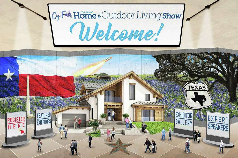 TexWood Home Shows has released an artist's concept of their new virtual website for their Covid-19 rescheduled home and garden shows. The interactive site was the brainchild of Tony Wood and his graphic artist. Photo: Submitted