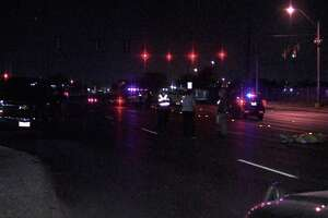 According to police, a man walking across the street died after he was hit by a pick-up truck Friday night.