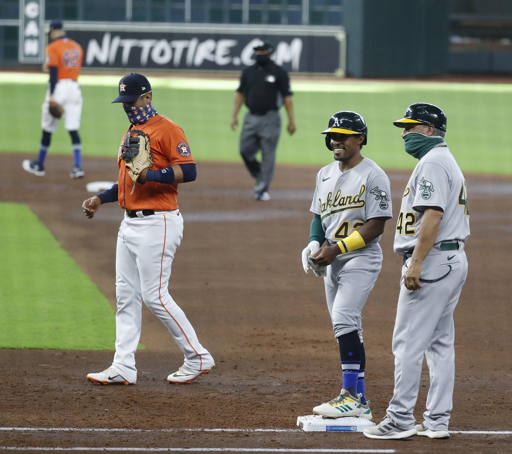 Game times set for Astros-Athletics series - Houston Chronicle