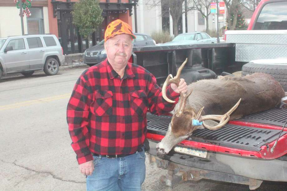 Bob Parker, of Stanwood shot this 8-pointer on Nov. 15, 2019, in the Stanwood area. (Pioneer photo file)