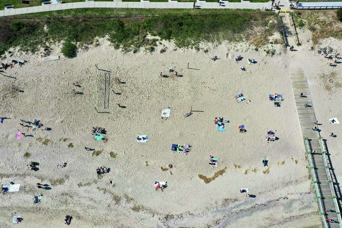 Milford beaches including Silver Sands May 5, 2020,