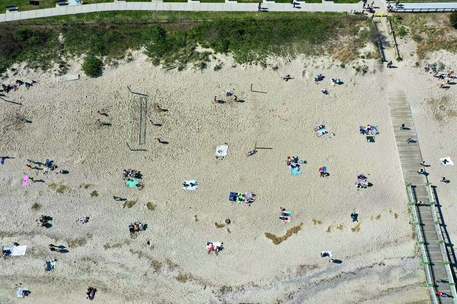 Milford beaches including Silver Sands May 5, 2020, Photo: Contributed Photo / Patrick Sikes / For Hearst Connecticut Media / Norwalk Hour contributed