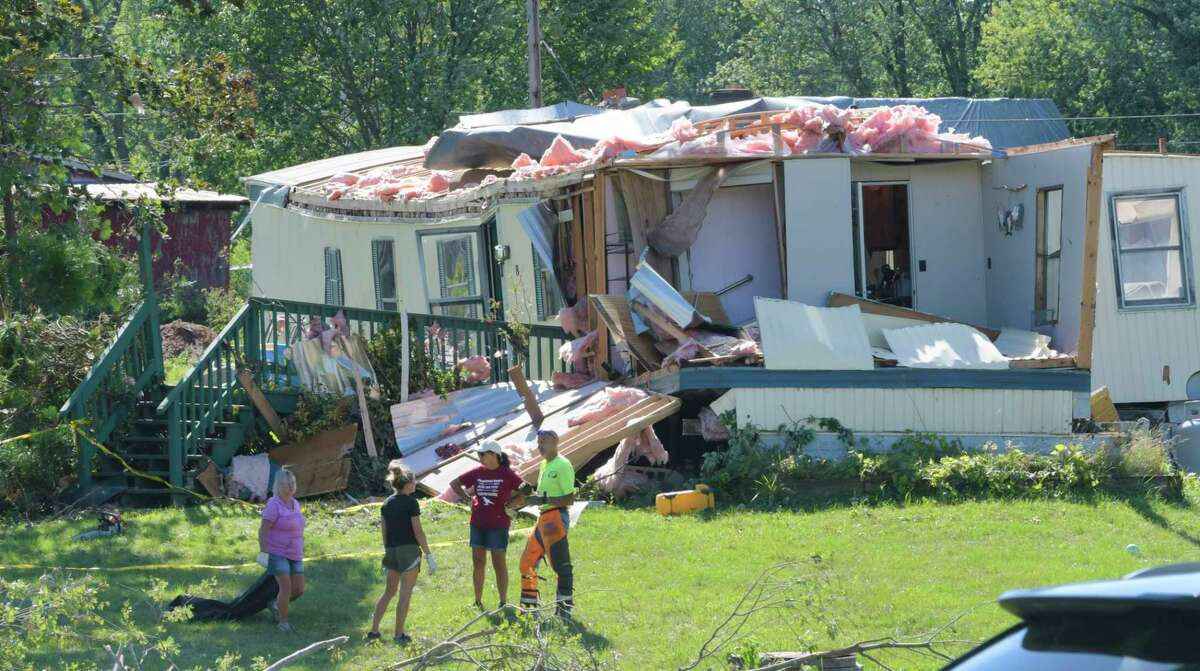 Here is a look back at tornado and heavy wind damage in the Capital Region over the years. The National Weather Service confirmed Sunday afternoon that two separate tornadoes hit eastern Saratoga and western Rensselaer counties Saturday. The storm that hit Stillwater was categorized as an EF 1, with winds moving as fast as 100 miles per hour. The storm traveled a quarter of a mile and injured one person. The tornado that hit Schaghticoke was given the same categorization, but traveled 1.25 miles. READ THE FULL STORY: Tornadoes strike in Stillwater, Schaghticoke