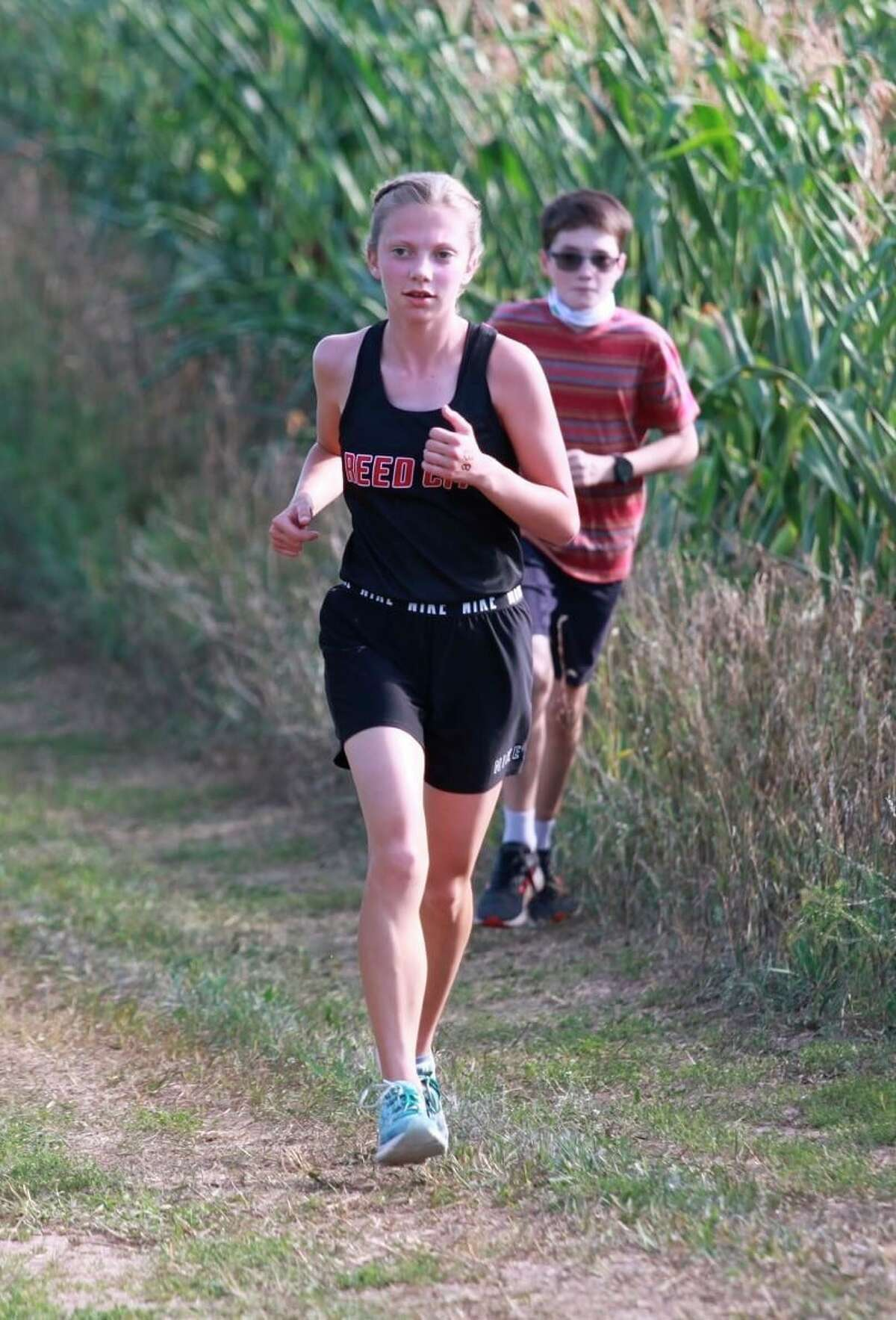 Reed City's McKenna Miller and her teammates have had strong races so far this season. (Pioneer file photo)